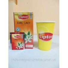 Черный чай Lipton Earl Grey (Черный чай с бергамотом), 25*2 г