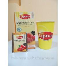 Фруктовый чай Lipton Forest Fruits (Лесные ягоды), 25*2 г