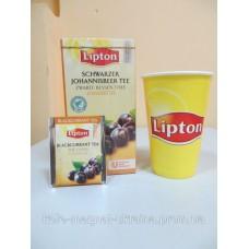 Фруктовый чай Lipton Blackcurrant Tea (Черная смородина), 25*2 г