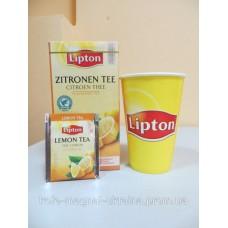 Фруктовый чай Lipton Lemon Tea (Лимон), 25*2 г