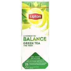 Пакетированный зеленый чай Lipton Green Tea (Классический без добавок) 25 шт