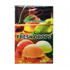 Карамель Roks Fresh Drops в ассортименте (без сахара) 1уп/30 г